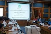ประชุมคณะกรรมการกองทุนหลักประกันสุขภาพเทศบาลตำบลหนองม่วง ครั้งที่1/2562