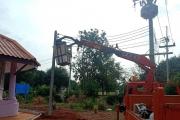 งานไฟฟ้าสาธารณะกองช่างเทศบาล